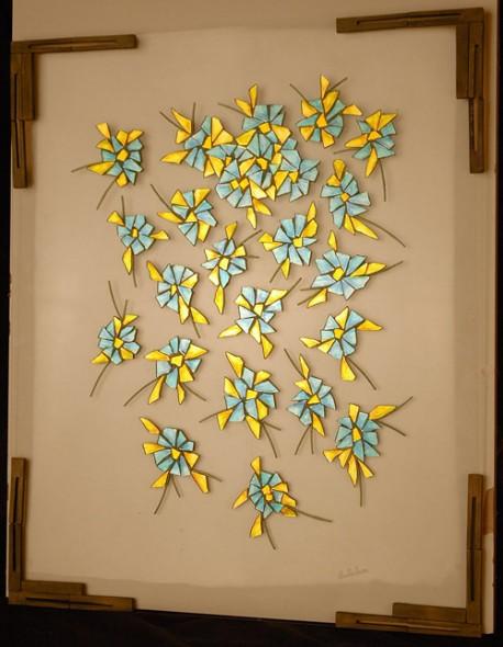 Obra de arte lluvia turquesa artistas y arte artistas de for Pinterest obras de arte