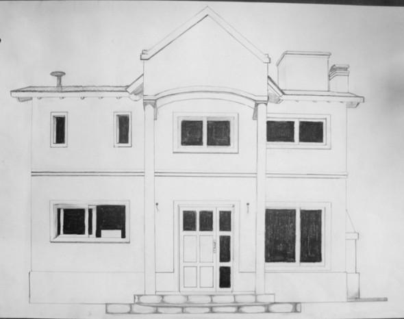 Una casa...