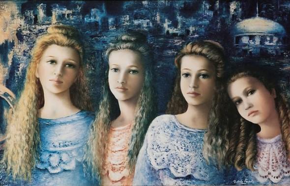 Hijas del Zar Nicolas II