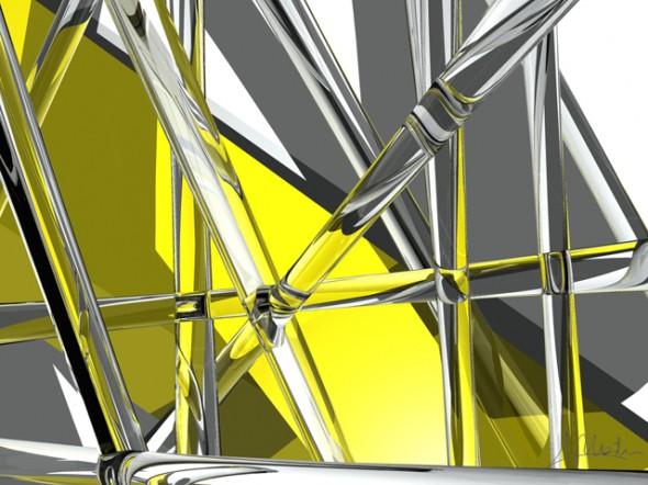 Composición Amarillo y Cristal
