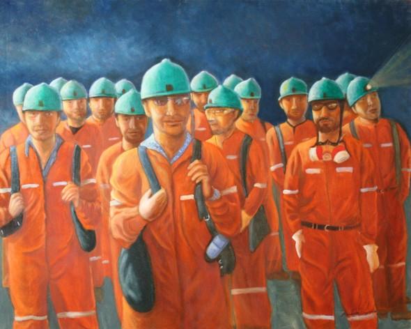 -Codelco Miners