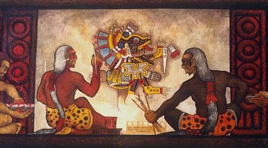 Los Tlacuilos Pinta a Xolotl