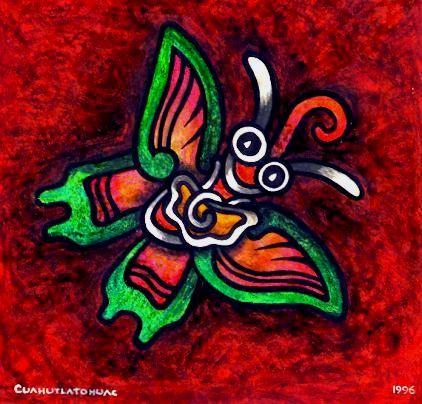 Mariposa Teotihuacana