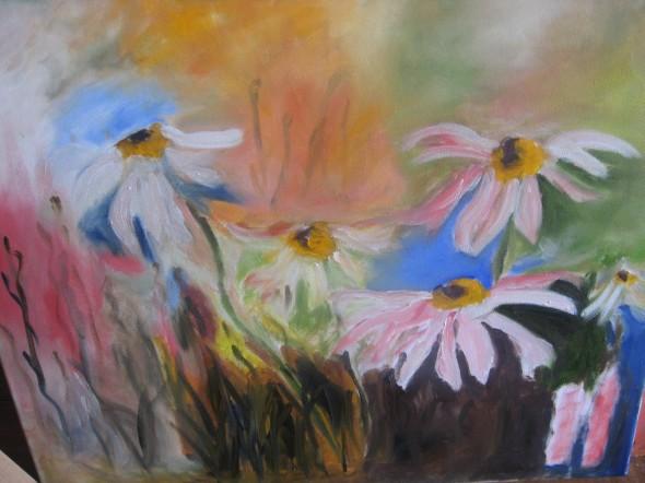 Jardín en flores