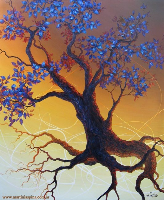 Dorada nutrición del árbol