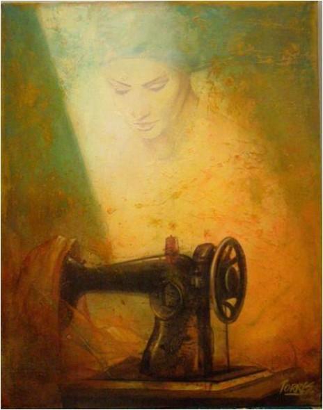 Artista jorge torres pintor colombiano artistas y arte for Pintor y muralista colombiano
