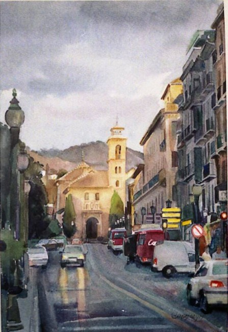 Iglesia Santa Ana, Granada