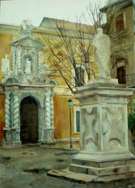 Plaza Facultad Derecho, Granada