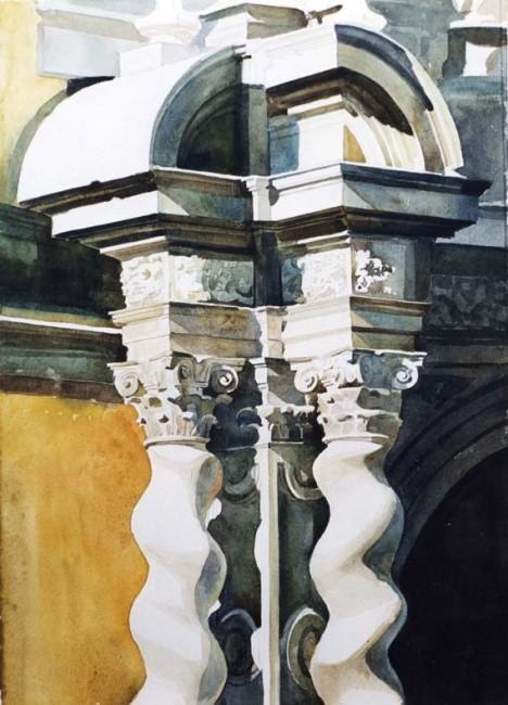 Columnas Facultad Derecho, Granada