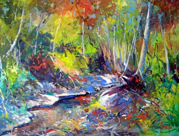 El arroyo (otoño)