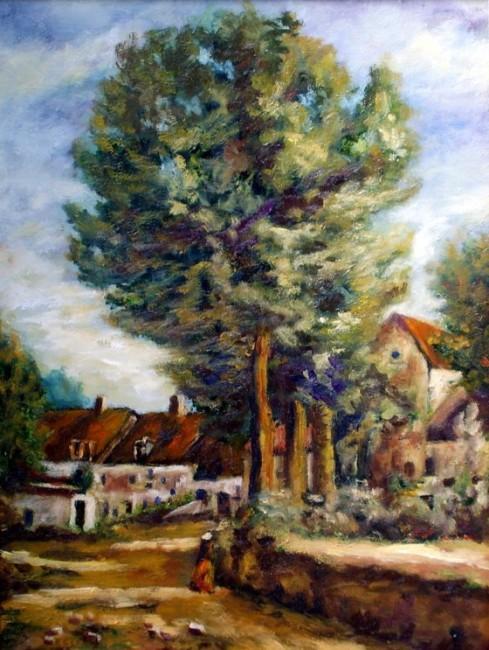 Remigio meg as obra paisaje de corot - Pintores las rozas ...