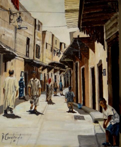 Armario Keter Jardin ~ Obra de arte Una calle de Fez Artistas y arte Artistas