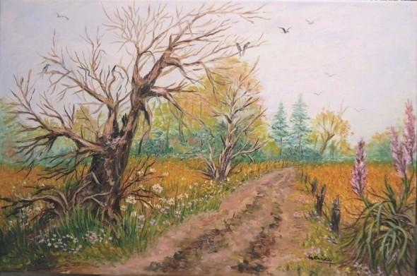 """""""Camino de campo en otoño """""""