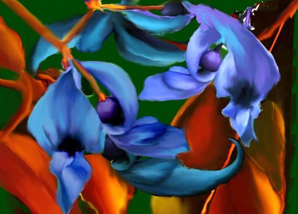 Obra De Arte: Flor De Jade Artistas Y Arte. Artistas De La