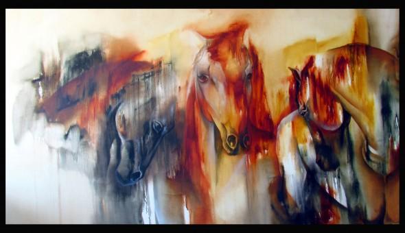 3 caballos