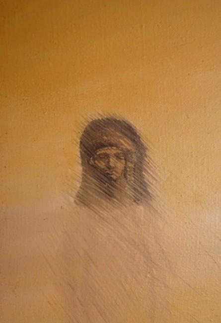 Imagen primitiva de la diosa tanit.