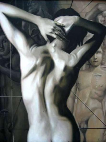 Desnudos Femeninos Oleos