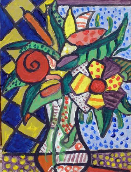 Obra de arte jarron cubista artistas y arte artistas de for Pinterest obras de arte