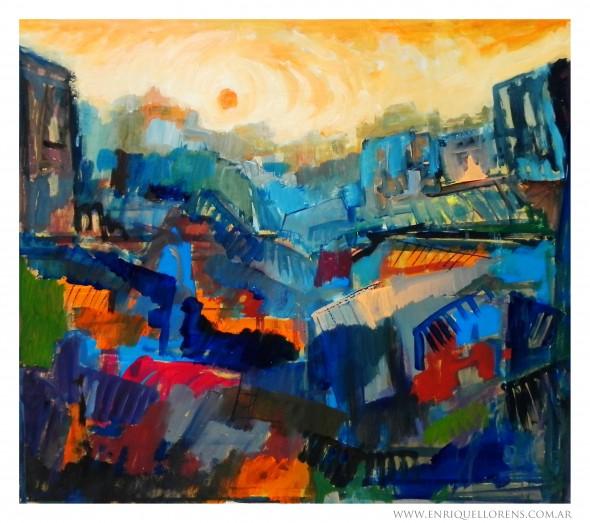Monet hace Sun Gazing