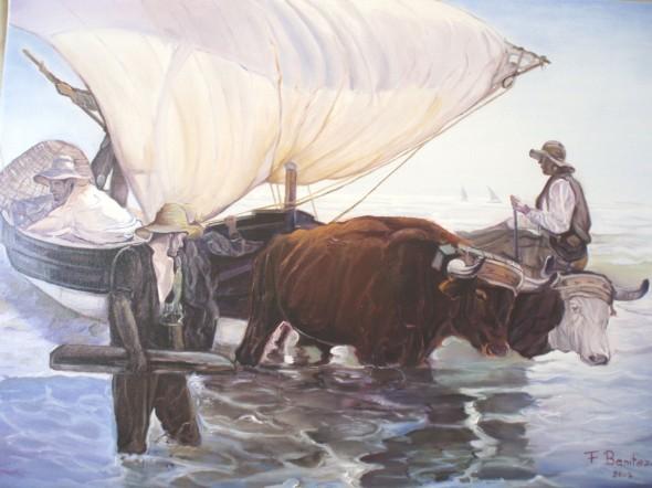 Obra de arte la vuelta de la pesca copia de joaquin - Galeria de arte sorolla ...