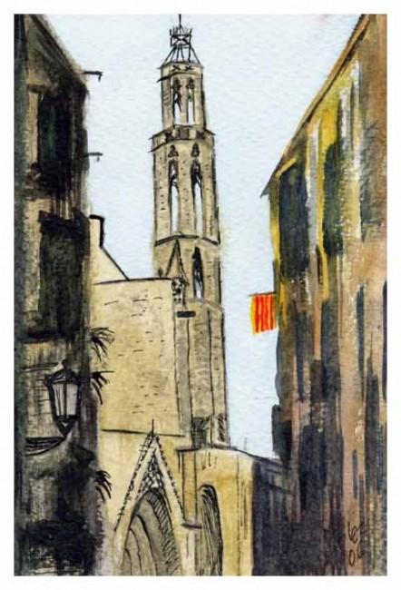 Torre de Santa María del Mar