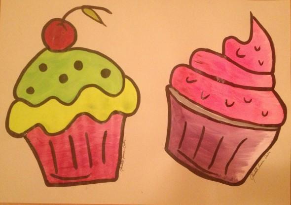 fantasia de cupcake