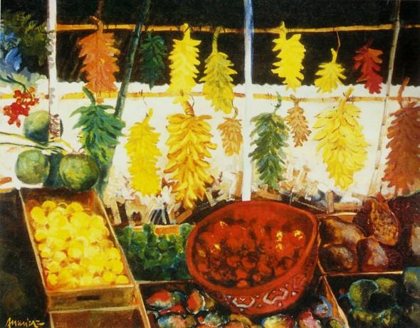 Marajoara e frutas tropicias