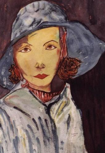 Greta Garbo en Lluvia
