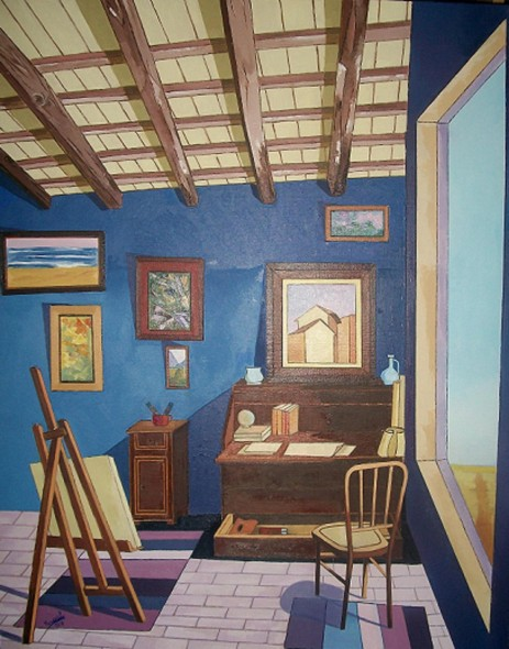 Estudi0 de pintor