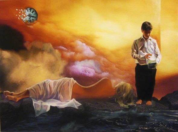 Cyrene,la luna y el mensajero