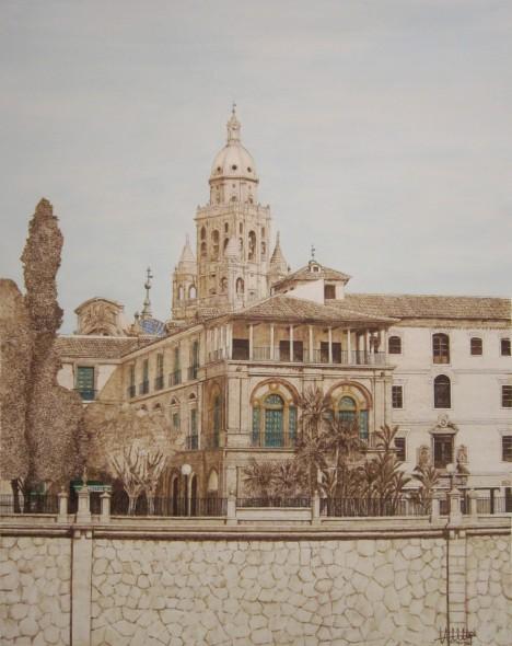 Martillo y torre de Murcia.