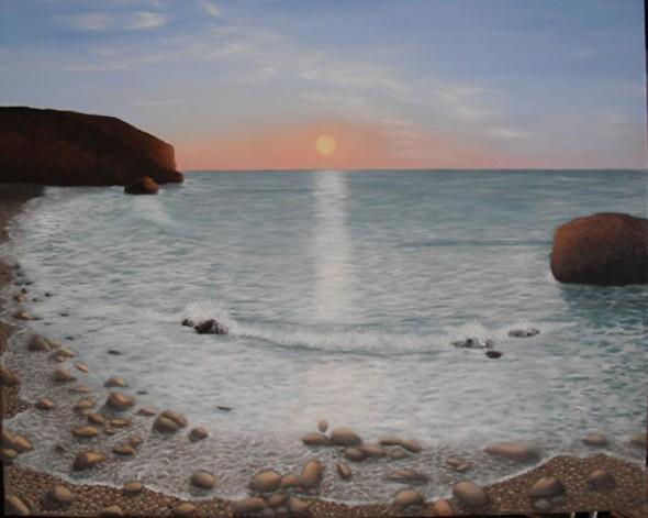 Marina con rocas