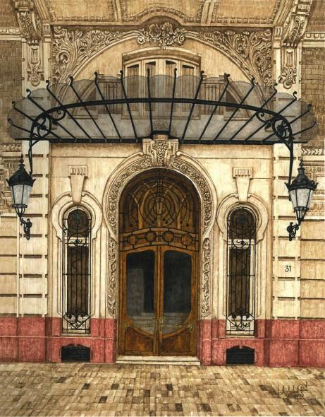 Puerta del Gran Hotel (Cartagena)