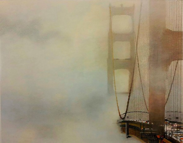 FOG AT THE GOLDEN GATE