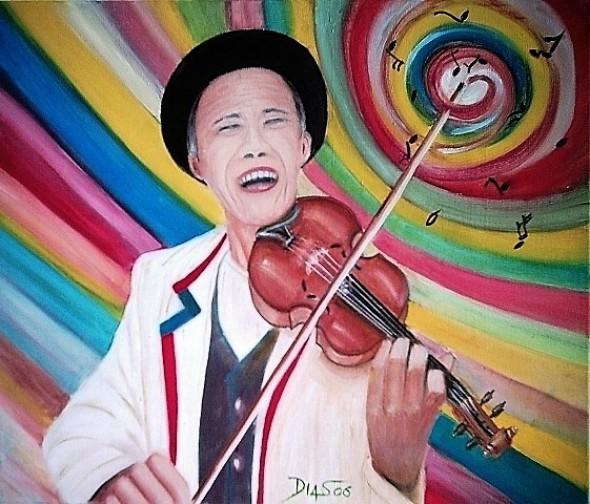 Melodia de colores - musicista, ator e ritmista Antonio Nobrega