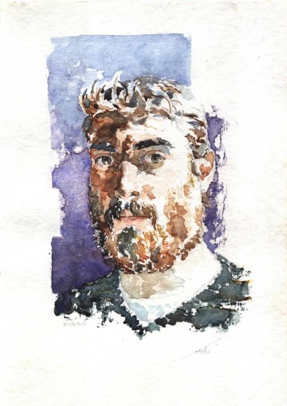 Autorretrato con barba
