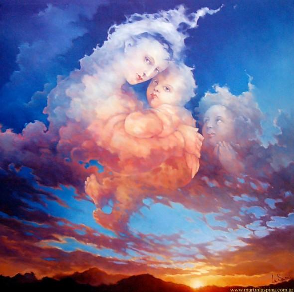 Cumulus Nimbus Virginae