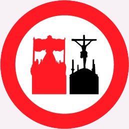 prohibido adelantar