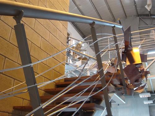 Balconeante de escalera