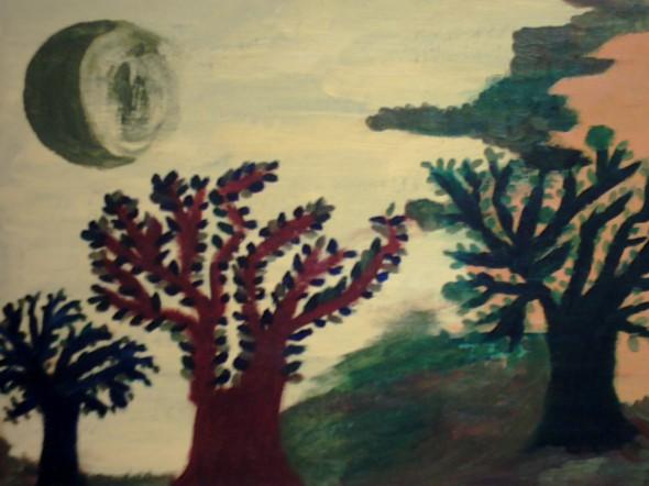 La luna verde