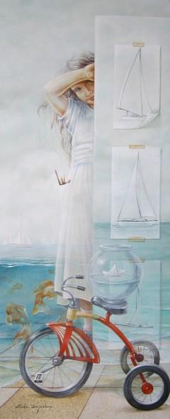 Mi barco velero   /  Chelin Sanjuan