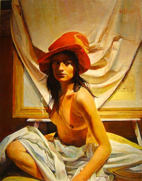 La Mujer del Sombrero Rojo lV