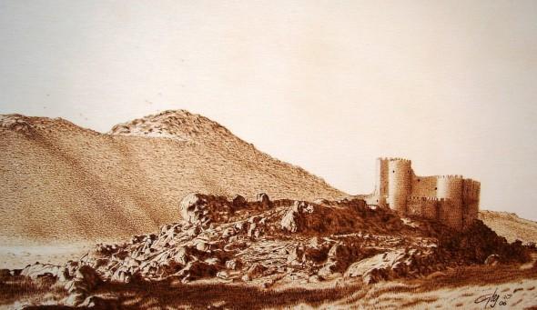 Castillo de Manqueospese (Ávila)