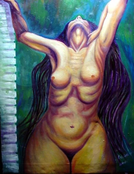Mujer Gran Cabello