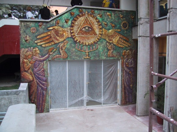 Martorrev martin de la torre vega obra ecumenismo mural for El mural jalisco