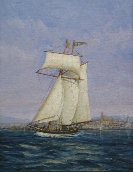 Pride of Baltimore. Málaga del S XIX