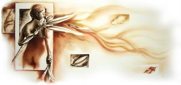cuando se agota la vida no se necesitan alas, pues pasas a ser parte del sueño por el cual empezaste a volar...