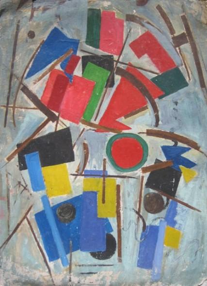 Composici�n Abstracta -Ciro Campos
