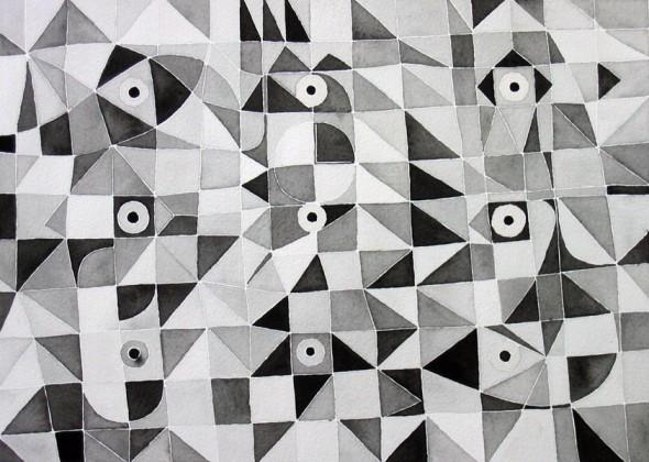arte en blanco y negro
