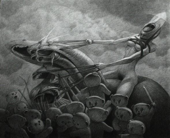 La gran bestia, la ramera y los mártires